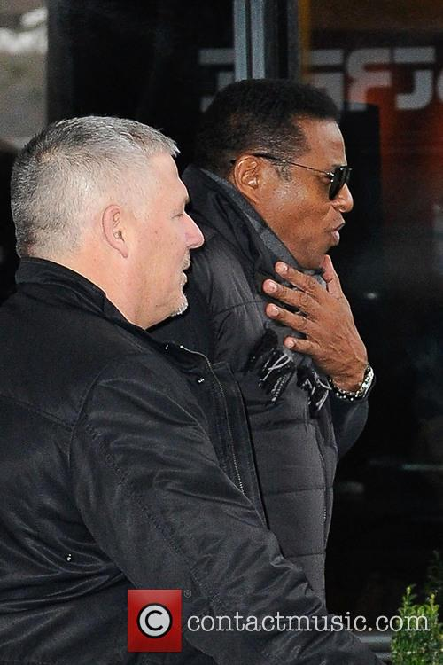 jackie jackson the jacksons leave their hotel 3529295