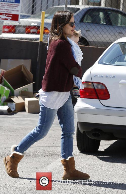 Jennifer Garner, Samuel Affleck