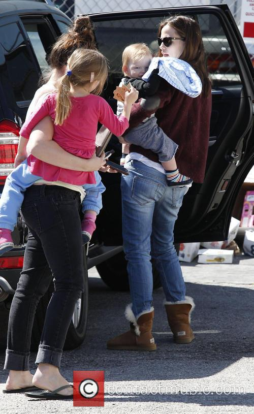Jennifer Garner, Samuel Affleck and Seraphina Affleck 3