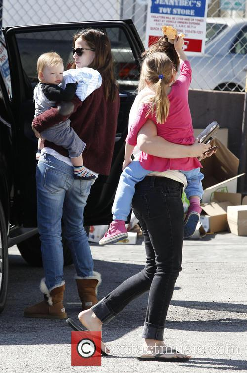 Jennifer Garner, Samuel Affleck and Seraphina Affleck 7