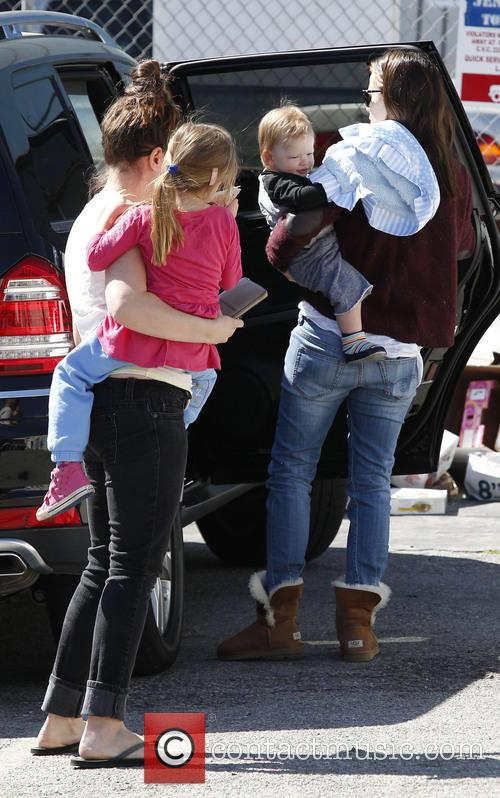Jennifer Garner, Samuel Affleck and Seraphina Affleck 1