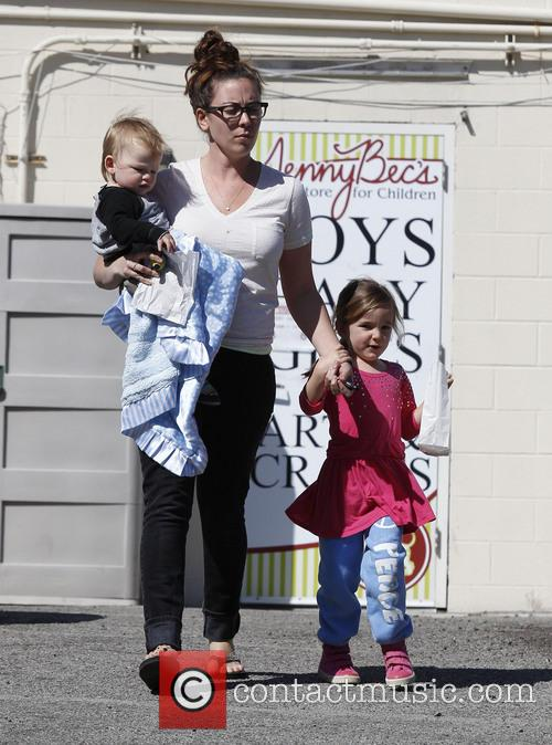 Jennifer Garner, Samuel Affleck and Seraphina Affleck 5