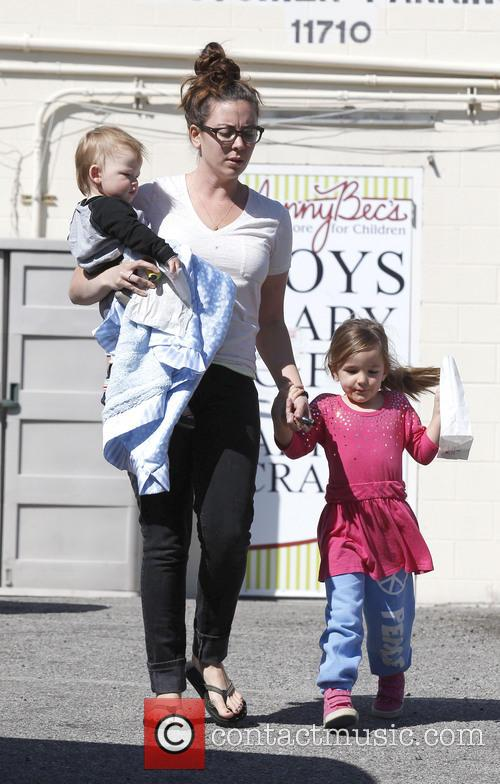 Jennifer Garner, Samuel Affleck and Seraphina Affleck 9