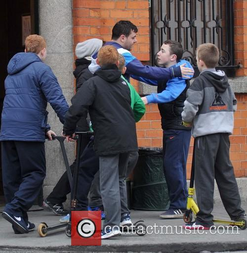 RTE drama 'Love/Hate' season 4 filming scenes