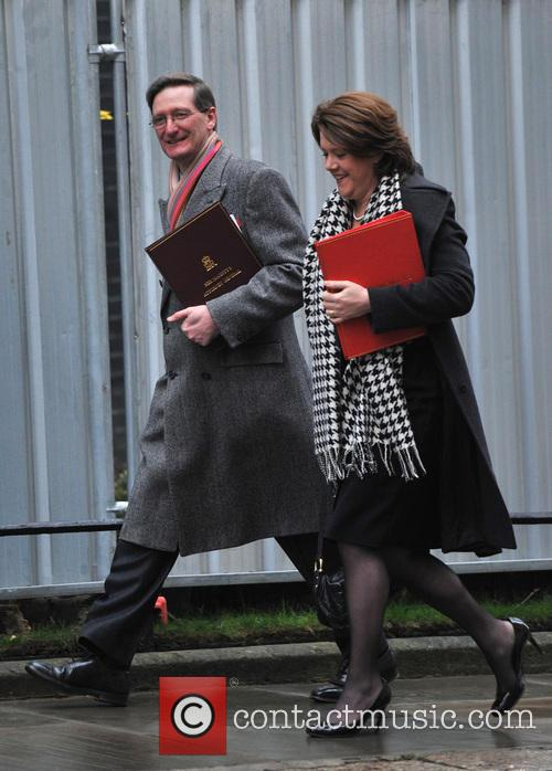 Attorney General Dominic Grieve (l) and Culture Secretary Maria Miller (r) 9