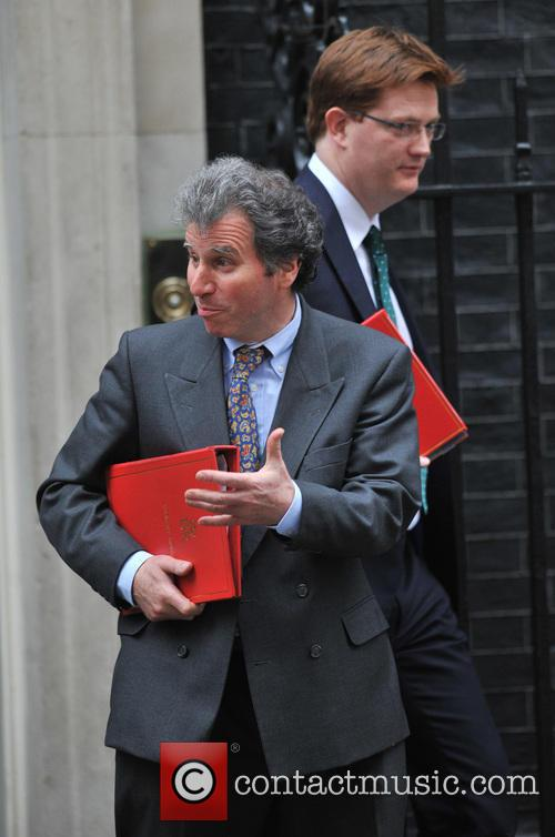 Oliver Letwin and Treasury Secretary Danny Alexander (back) 2