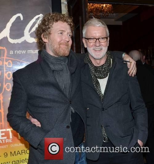 Glen Hansard and John Harte (producer) 3
