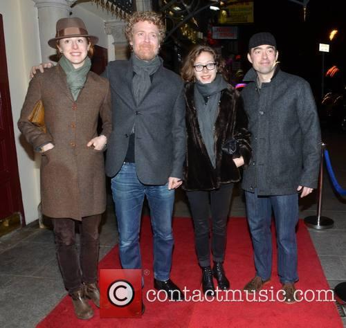 Glen Hansard, Hilary Caldwell, Heidi Rose and Ezra Caldwell 4