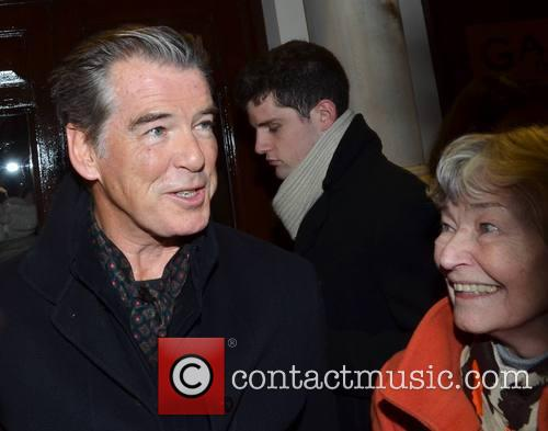 Pierce Brosnan and Mother May 3