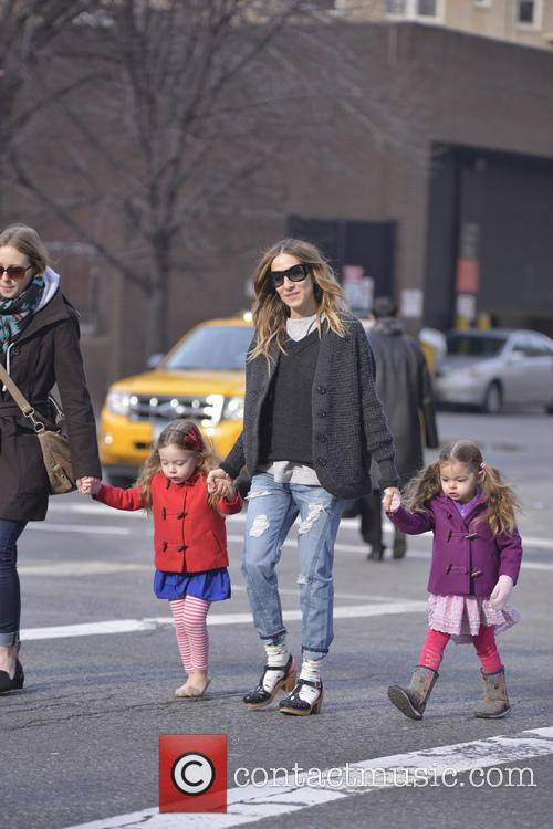 Sarah Jessica Parker, Tabitha and Marion Broderick 4