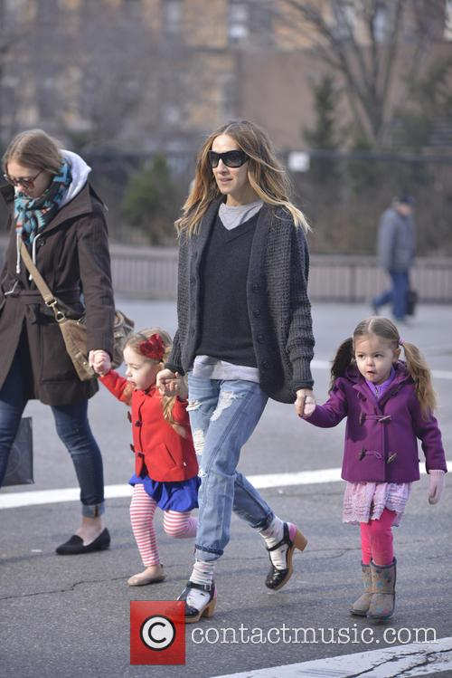 Sarah Jessica Parker, Tabitha and Marion Broderick 5