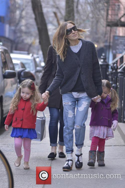 Sarah Jessica Parker, Tabitha and Marion Broderick 6