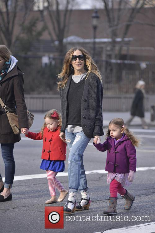 Sarah Jessica Parker, Tabitha and Marion Broderick 7