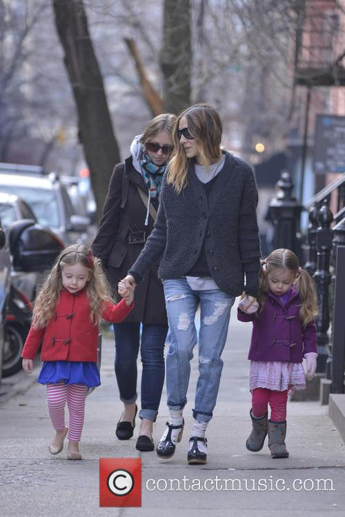 Sarah Jessica Parker, Tabitha and Marion Broderick 8