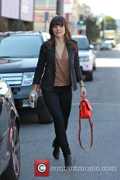 Sophia Bush seen shopping