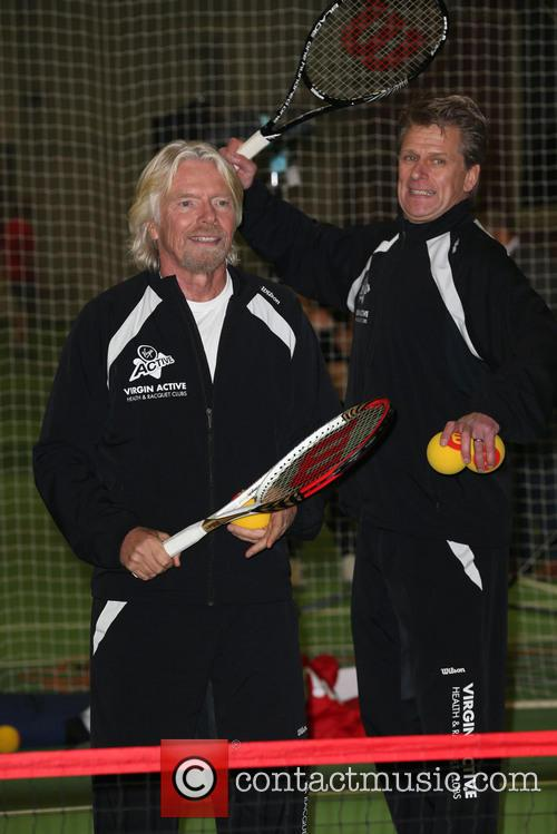 Richard Branson and Andrew Castle 4