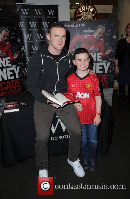 Wayne Rooney and Josh Tompson 2