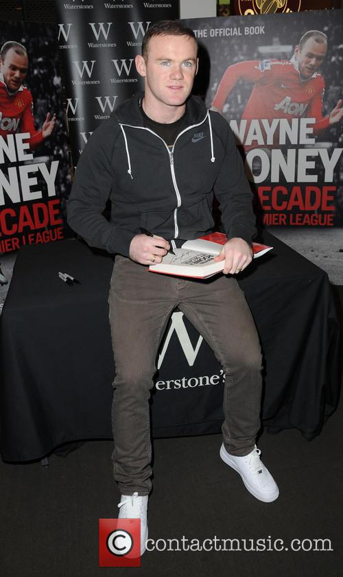 Wayne Rooney promotes his new book