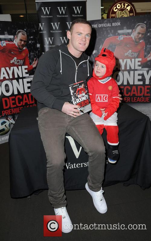 Wayne Rooney and Young Fan Aiden 9