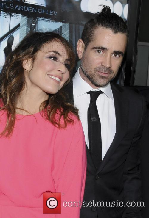 Noomi Rapace and Colin Farrell 5