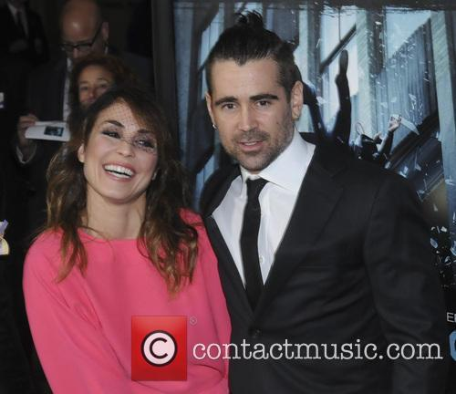 Noomi Rapace and Colin Farrell 7