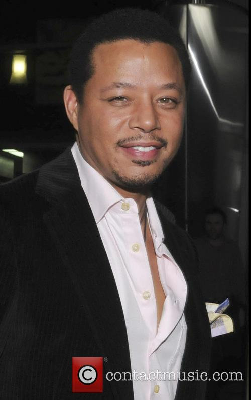 Terrence Howard at the premier of his new film Dead Man Down