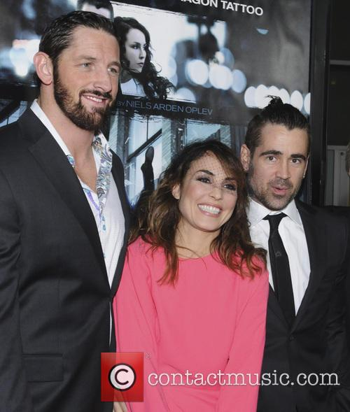 Wade Barrett, Noomi Rapace and Colin Farrell 3