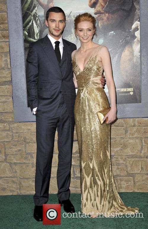 Nicholas Hoult and Eleanor Tomlinson 2