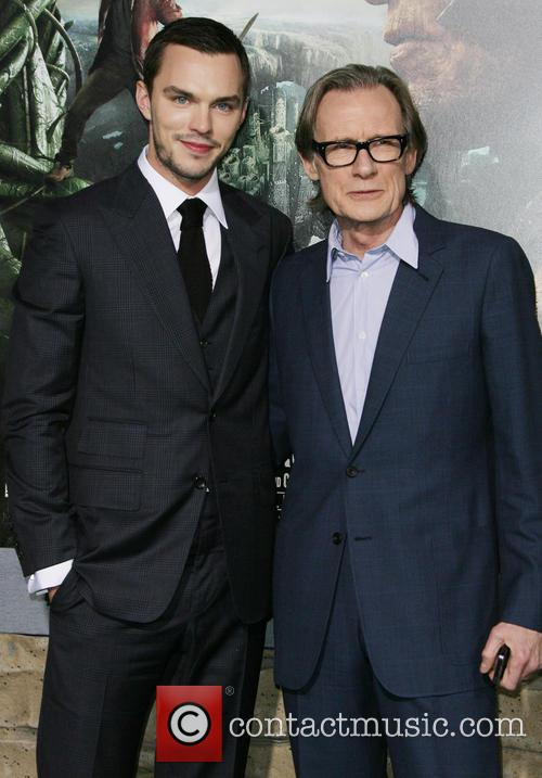Nicholas Hoult and Bill Nighy 9