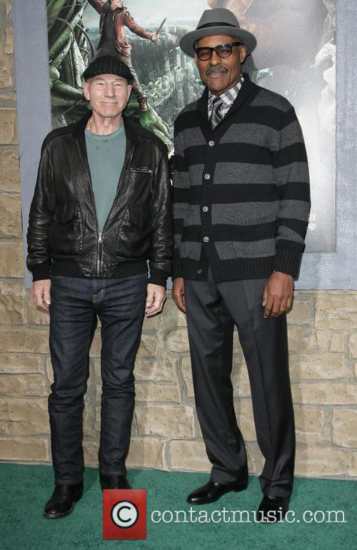 Patrick Stewart and Michael Dorn 4