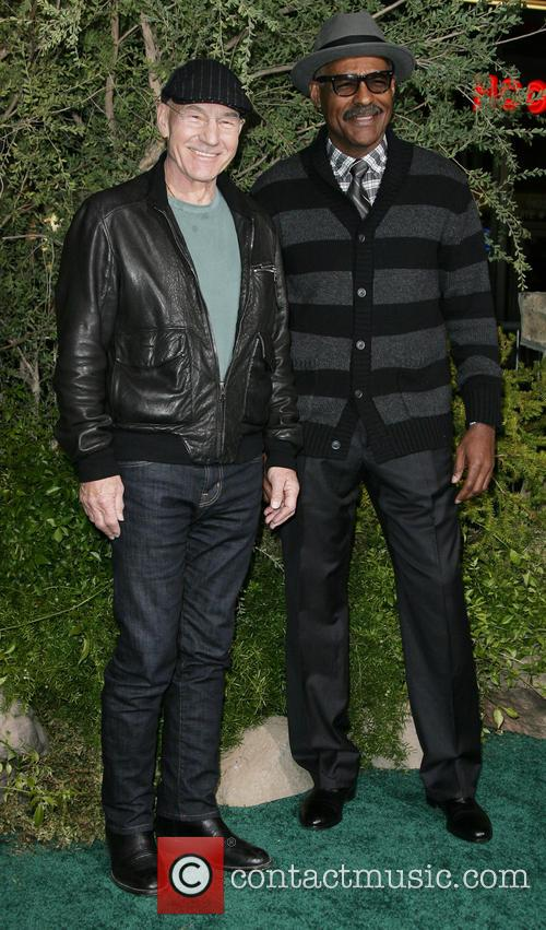 Patrick Stewart and Michael Dorn 7