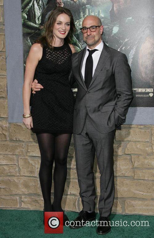 Stanley Tucci and Felicity Blunt 5
