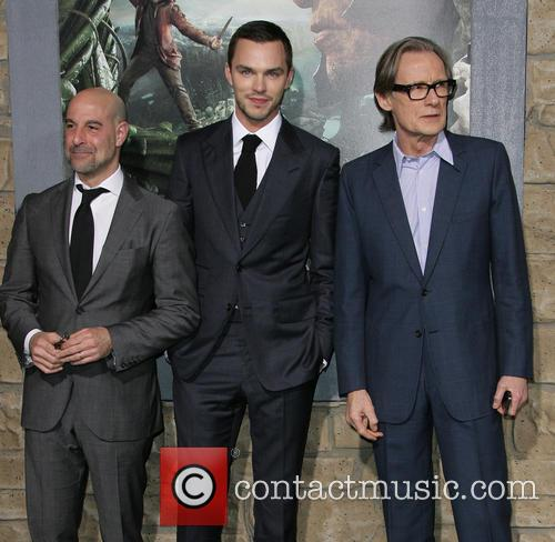Stanley Tucci, Nicholas Hoult and Bill Nighy 3