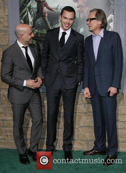 Stanley Tucci, Nicholas Hoult and Bill Nighy 7