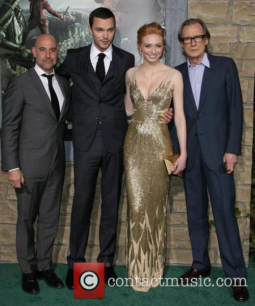 Stanley Tucci, Nicholas Hoult, Eleanor Tomlinson and Bill Nighy 1