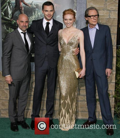Stanley Tucci, Nicholas Hoult, Eleanor Tomlinson and Bill Nighy 8