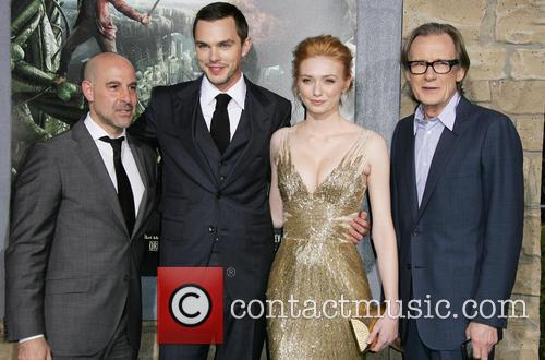 Stanley Tucci, Nicholas Hoult, Eleanor Tomlinson and Bill Nighy 9