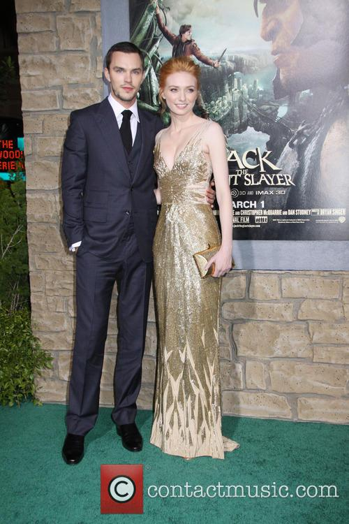 Nicholas Hoult and Eleanor Tomlinson 1