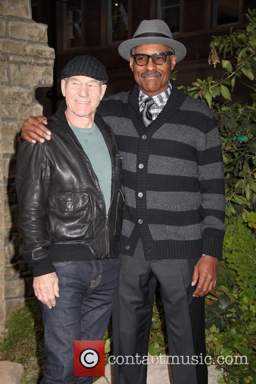 Patrick Stewart and Michael Dorn 1