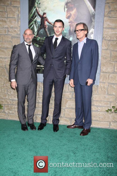 Stanley Tucci, Nicholas Hoult, Bill Nighy