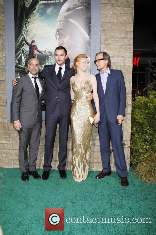 Stanley Tucci, Nicholas Hoult, Eleanor Tomlinson and Bill Nighy 11