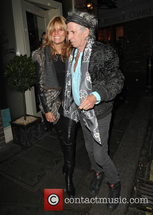 keith richards patti hansen keith richards leaving le 3529916