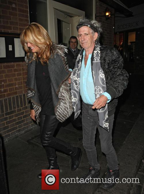 Keith Richards and Patti Hansen 3