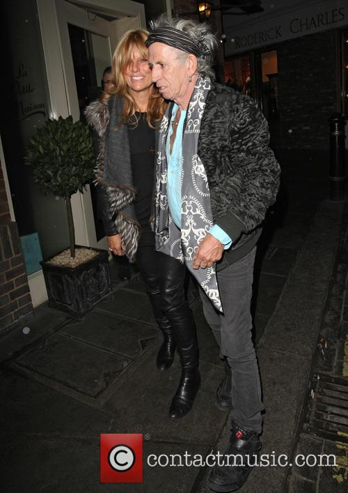 keith richards patti hansen keith richards leaving le 3529920