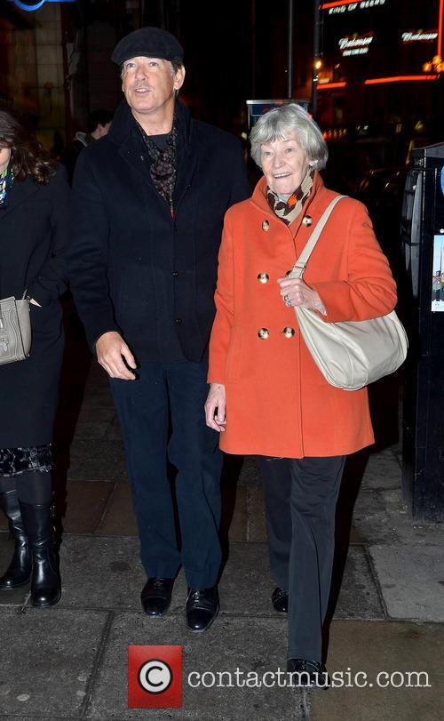 Pierce Brosnan and May Carmichael 1