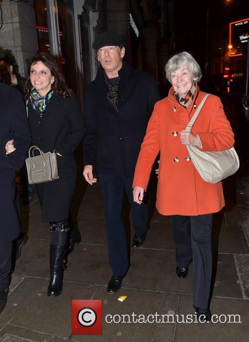 Pierce Brosnan and May Carmichael 2