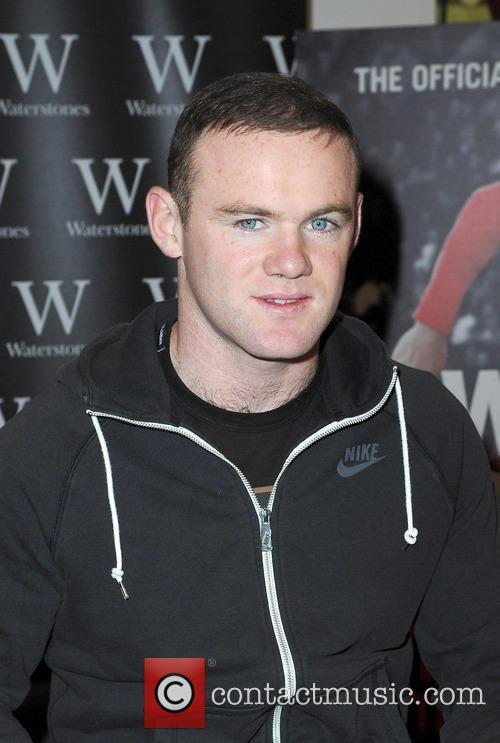 Wayne Rooney Book Signing