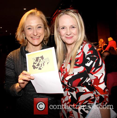 Caroline Goodall and Sarah Berger 3