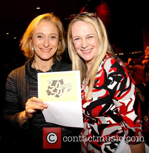Caroline Goodall and Sarah Berger 1