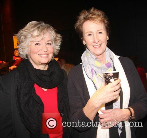 Susan Penhaligon and Su Douglas